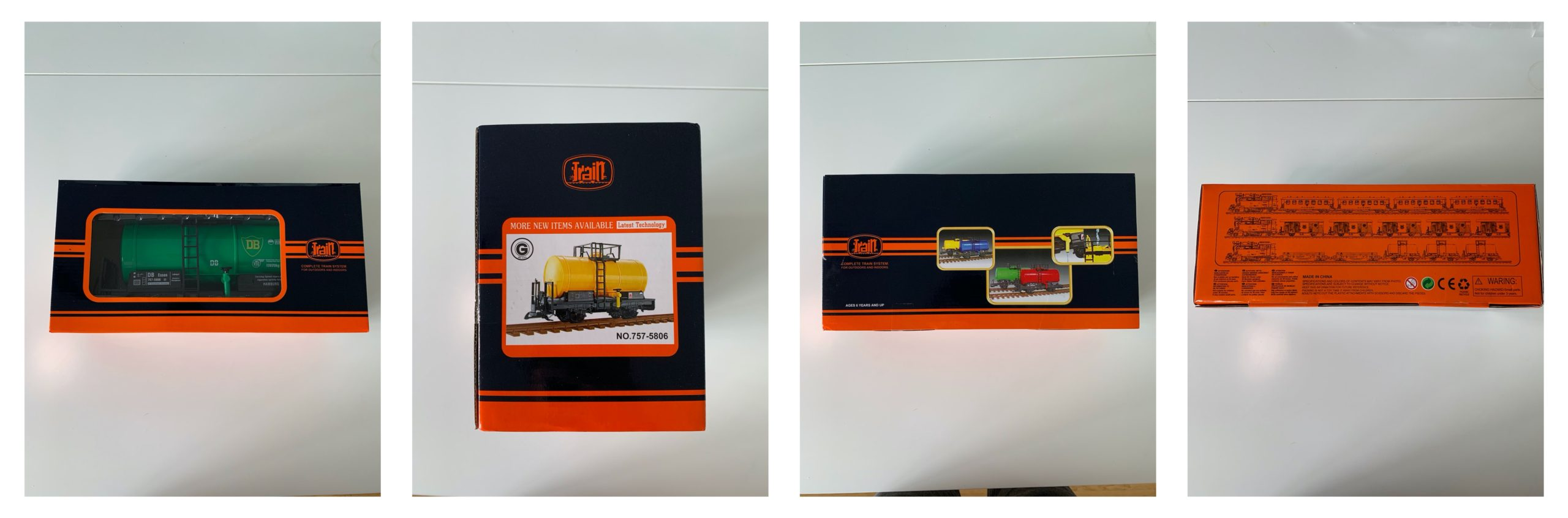 """Newqida """"Train"""" G-Gauge Tank Wagon – Grow your collection without the hit to the wallet"""